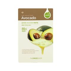 Тканевая маска The Face Shop Real Nature Mask Sheet Avocado skinfood avocado маска ночная для лица avocado маска ночная для лица
