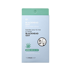 ����� ��� ���� The Face Shop Blackhead Out Aloe Nose Strips