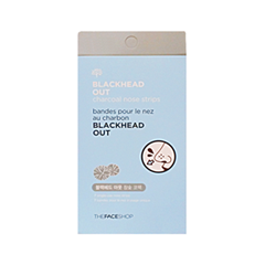 ����� ��� ���� The Face Shop Blackhead Out Charcoal Nose Strips