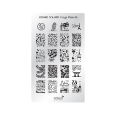 Дизайн ногтей Konad от PUDRA