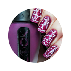 ���� ��� ������ � ��������� NailLOOK Croco 30612 (���� 30612)