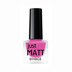 Лаки для ногтей с эффектами Divage Just Matt 5615 (Цвет 5615 variant_hex_name F862A2)