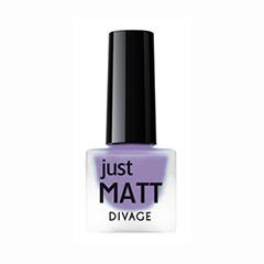 Лаки для ногтей с эффектами Divage Just Matt 5616 (Цвет 5616 variant_hex_name 8B55C5)
