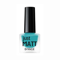 Лаки для ногтей с эффектами Divage Just Matt 5618 (Цвет 5618 variant_hex_name 2F96BF)