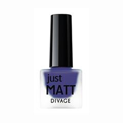 Лаки для ногтей с эффектами Divage Just Matt 5603 (Цвет 5603 variant_hex_name 291B70)