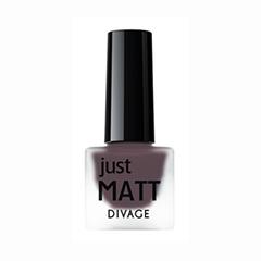 Лаки для ногтей с эффектами Divage Just Matt 5604 (Цвет 5604 variant_hex_name 321823)