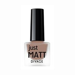 Лаки для ногтей с эффектами Divage Just Matt 5606 (Цвет 5606 variant_hex_name 79594C)