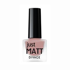 Лаки для ногтей с эффектами Divage Just Matt 5610 (Цвет 5610 variant_hex_name CC7F77)