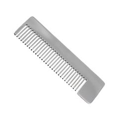 Расчески Chicago Comb Co. Модель №4. Зеркальная (Цвет Зеркальная variant_hex_name ababab)