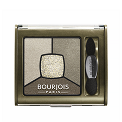 Тени для век Bourjois Smoky Stories 04 (Цвет 04 Rock this khaki variant_hex_name E1D9C2)