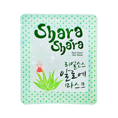 Тканевая маска Shara Shara Real Source Aloe Mask (Объем 20 г)