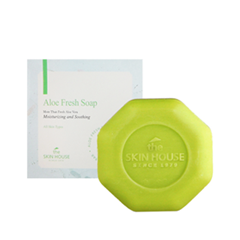 Мыло The Skin House Aloe Fresh Soap (Объем 90 г)