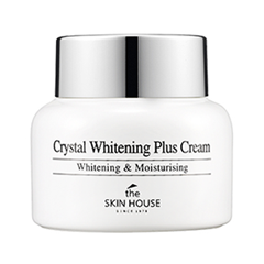 Крем The Skin House Crystal Whitening Plus Cream (Объем 50 мл) тональный крем the saem porcelain skin bb cream spf30 ра 02