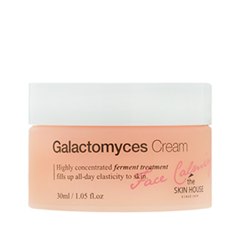 Крем The Skin House Face Calming Galactomyces Cream (Объем 30 мл) увлажняющий крем для лица the saem the essential galactomyces hydra cream