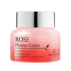 Крем The Skin House Rose Heaven Cream (Объем 50 мл) тональный крем the saem porcelain skin bb cream spf30 ра 02