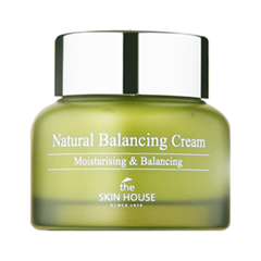 Крем The Skin House Natural Balancing Cream (Объем 50 мл) тональный крем the saem porcelain skin bb cream spf30 ра 02