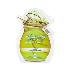 Тканевая маска Holika Holika Juicy Mask Sheet. Aloe маска holika holika aloe 99% soothing gel jelly mask sheet