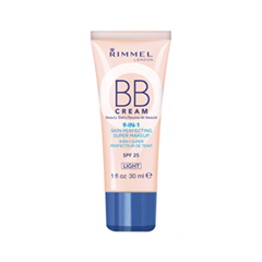 BB крем Rimmel BB Cream 9-in-1 001 (Цвет 001 Light variant_hex_name EDC2AB)