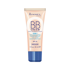 BB крем Rimmel BB Cream 9-in-1 002 (Цвет 002 Medium variant_hex_name E2AB8B)