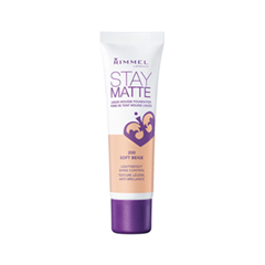 Тональная основа Rimmel Stay Matte 200 (Цвет 200 Soft Beige variant_hex_name F0B67F)