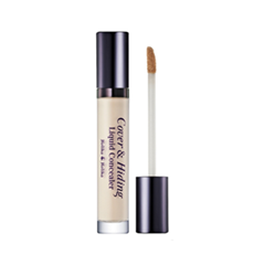Консилер Holika Holika Cover  Hiding Liquid Concealer 01 (Цвет 01 Light Beige variant_hex_name E2D9CA)