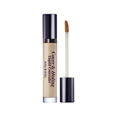 Консилер Holika Holika Cover & Hiding Liquid Concealer 02 (Цвет 02 Natural Beige variant_hex_name D5C5B0)
