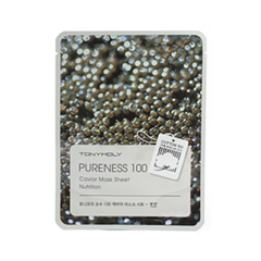 Тканевая маска Tony Moly Pureness 100 Caviar Mask Sheet (Объем 21 мл) тканевая маска tony moly pureness 100 shea butter mask sheet объем 21 мл