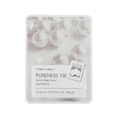 Тканевая маска Tony Moly Pureness 100 Pearl Mask Sheet (Объем 21 мл) tony moly маска для лица pureness 100 green tea mask sheet