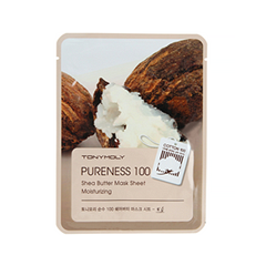 Тканевая маска Tony Moly Pureness 100 Shea Butter Mask Sheet (Объем 21 мл) tony moly sheet gel mask pureness 100 collagen маска тканевая с экстрактом коллагена 21 мл