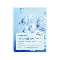 Тканевая маска Tony Moly Pureness 100 Shea Hyaluronic Acid Mask Sheet (Объем 21 мл) tony moly sheet gel mask pureness 100 collagen маска тканевая с экстрактом коллагена 21 мл