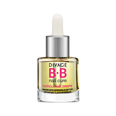Уход за кутикулой Divage Масло BB Nail Cure Cuticle Oil Drops (Объем 6 мл)