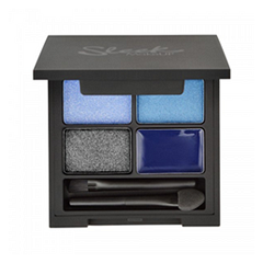 Тени для век Sleek MakeUP i-Quad (Цвет Midnight Blues variant_hex_name 21265E)