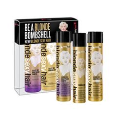 Подарки Sexy Hair Набор Blonde Intro Kit (Объем 300мл+300мл+130мл)