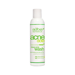 Акне Alba Botanica Acne Dote. Deep Pore Wash (Объем 177 мл)