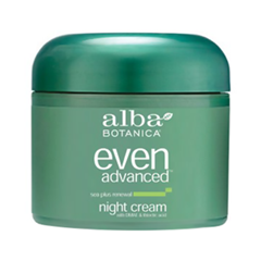 Ночной крем Alba Botanica Even Advanced. Sea Plus Renewal Night Cream (Объем 60 мл)