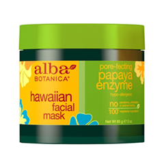 Маска Alba Botanica Hawaiian Facial Mask. Pore-fecting Papaya Enzyme (Объем 85 г)