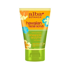 Скраб Alba Botanica Hawaiian Facial Scrub. Pore Purifying Pineapple Enzyme (Объем 113 г)