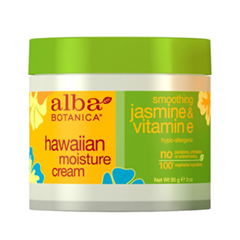 Крем Alba Botanica Hawaiian Moisture Cream. Smoothing Jasmine and Vitamin E (Объем 85 г) крем librederm vitamin e cream antioxidant for face 50 мл