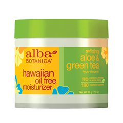 Крем Alba Botanica Hawaiian Oil-Free Moisturizer. Refining Aloe & Green Tea (Объем 85 г) hawaiian tropic spf20 blingbling