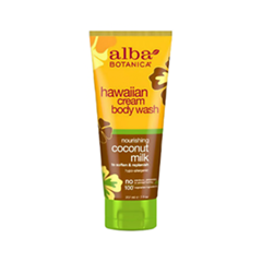 Гель для душа Alba Botanica Hawaiian Cream Body Wash. Nourishing Coconut Milk (Объем 207 мл)
