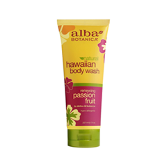 Гель для душа Alba Botanica Hawaiian Body Wash. Renewing Passion Fruit (Объем 207 мл)
