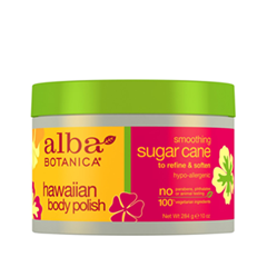 Скрабы и пилинги Alba Botanica Hawaiian Body Polish. Smoothing Sugar Cane (Объем 284 г)