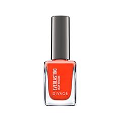 Лак для ногтей Divage Everlasting 11 (Цвет 11 variant_hex_name FF4315) лаки для ногтей divage набор 311 лаки для ногтей everlasting g 14 топ покрытие