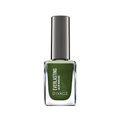 Лак для ногтей Divage Everlasting 23 (Цвет 23 variant_hex_name 2E551C) лаки для ногтей divage набор 311 лаки для ногтей everlasting g 14 топ покрытие