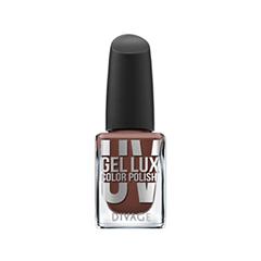 Лак для ногтей Divage Uv Gel Lux 13 (Цвет 13 variant_hex_name 7B493E) divage nail polish uv gel lux гель лак для ногтей тон 10 12 мл