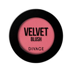 Румяна Divage Velvet 04 (Цвет № 8704 variant_hex_name DE6B78)