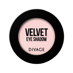 Тени для век Divage Velvet 06 (Цвет 7306 variant_hex_name F9CDCC)