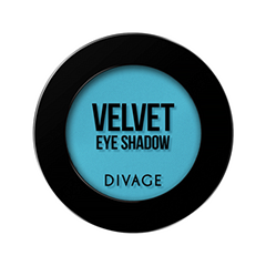 Тени для век Divage Velvet 14 (Цвет 7314 variant_hex_name 4AB2CB)