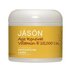 Антивозрастной уход Jason Age Renewal Vitamin E Creme 25,000 IU (Объем 113 г)