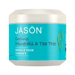 Специальный уход Jason Гель обезболивающий Cooling Minerals  Tea Tree Muscle Pain Therapy (Объем 113 г)